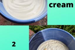 2 easy vegan sour cream recipes